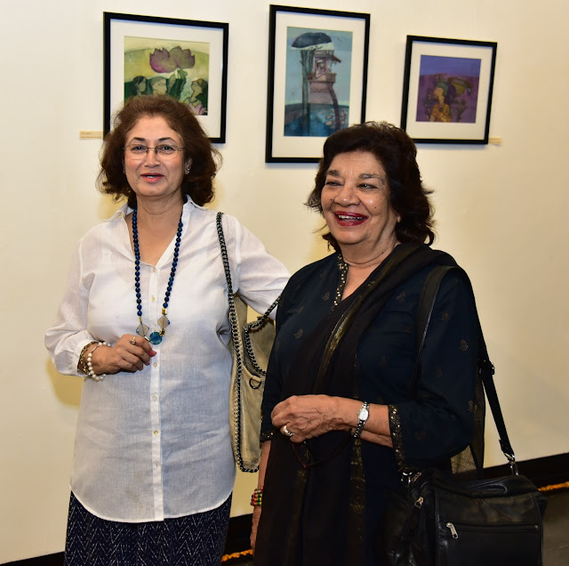 Rama Tandon and Author Aruna Vasudev