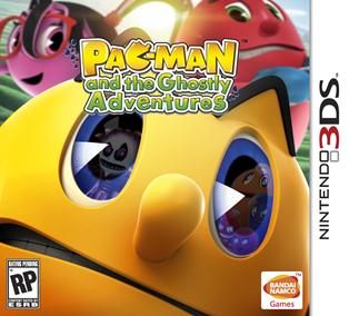 Rom Pac-man And The Ghostly Adventures 3DS