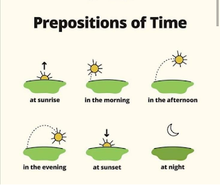 Prepositions at time