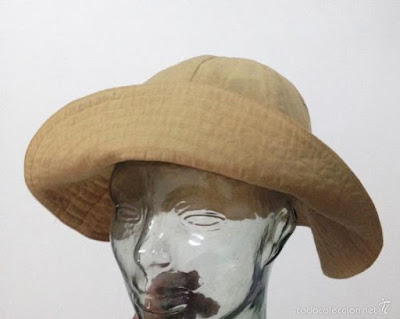 sombrero chambergo militar