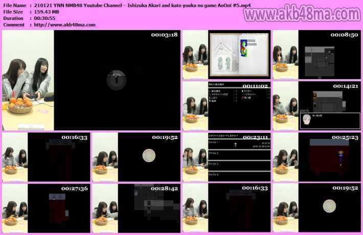 210121 YNN NMB48 Youtube Channel