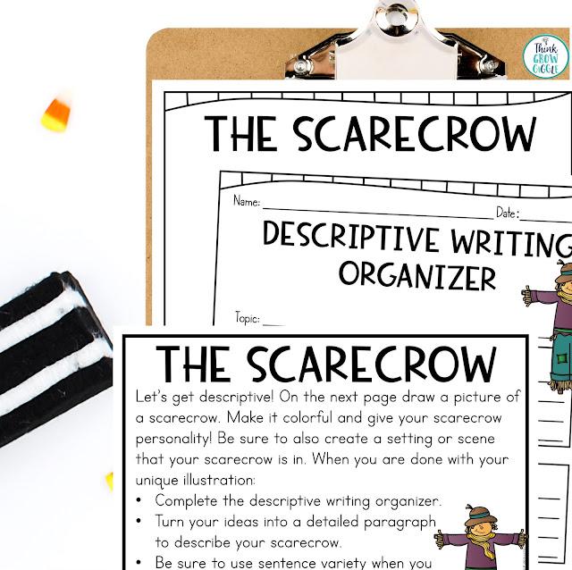 Scarecrow Activities for Upper Elementary