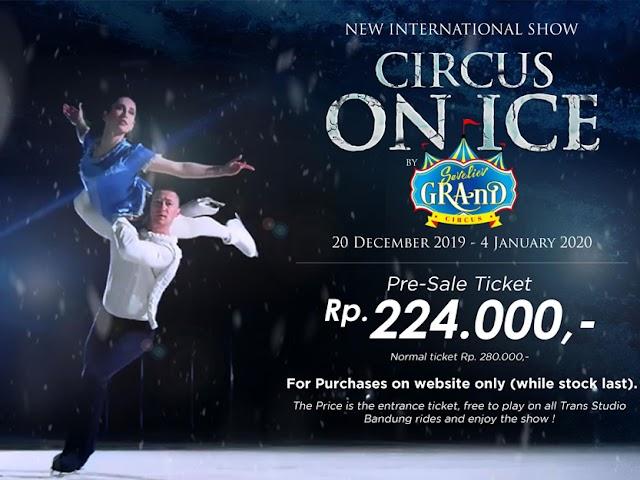 Musim Liburan Natal dan Tahun Baru, Trans Studio Bandung Sajikan Circus On Ice