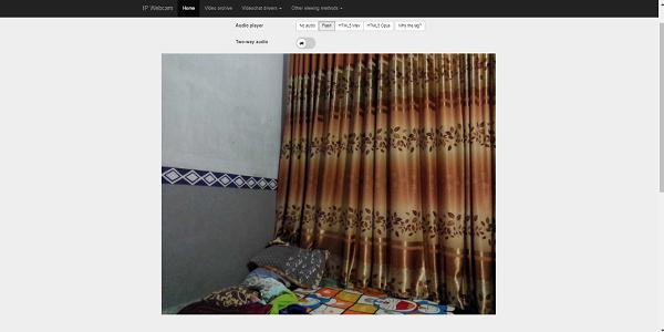 Aplikasi IP Webcam
