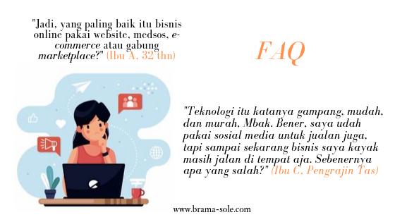 Teknologi internet yang manakah yang sesuai bagi pelaku Bisnis Online & UMKM?