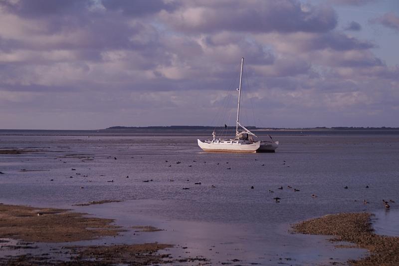 Amrum Segelschiff Nordsee Watt
