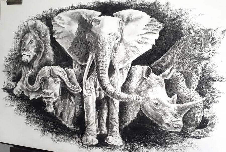 01-Wildlife-Selfie-Natalya-Bassani-www-designstack-co