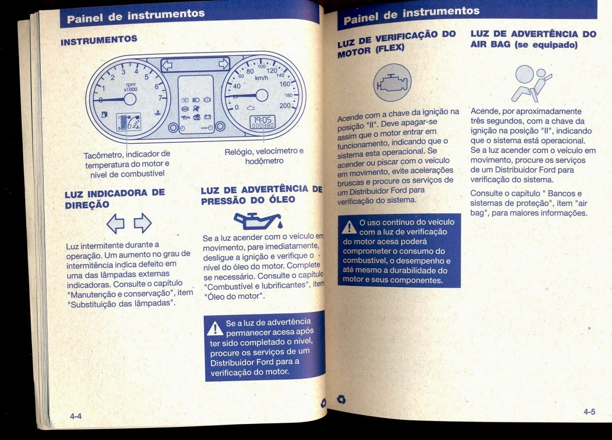 Manuais Do Propriet U00c1rio Gr U00c1tis  Ford Fiesta 2006