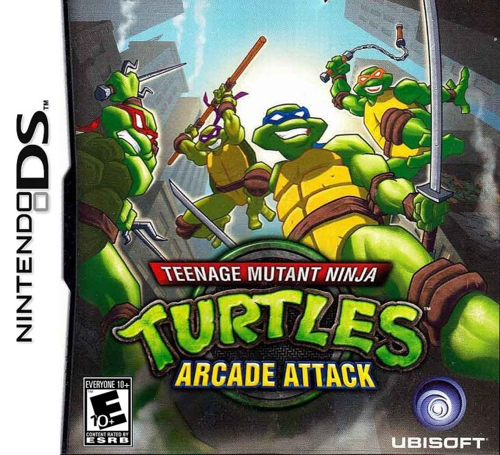 Of Swords And Joysticks Review 243 Teenage Mutant Ninja Turtles Arcade Attack