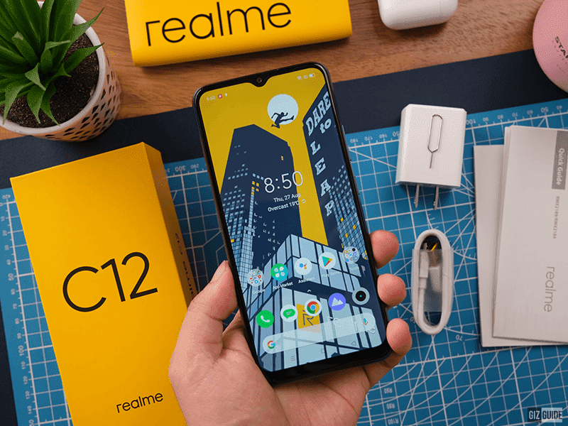 realme C12 is one of the headliners of the C series