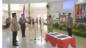 Wali Kota Bima Lantik Pengurus Kwartir Cabang & LPK Kwartir Cabang Gerakan Pramuka Kota Bima