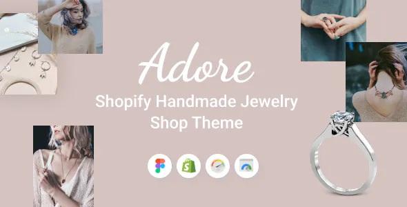 Best Shopify Handmade Jewelry Shop Theme
