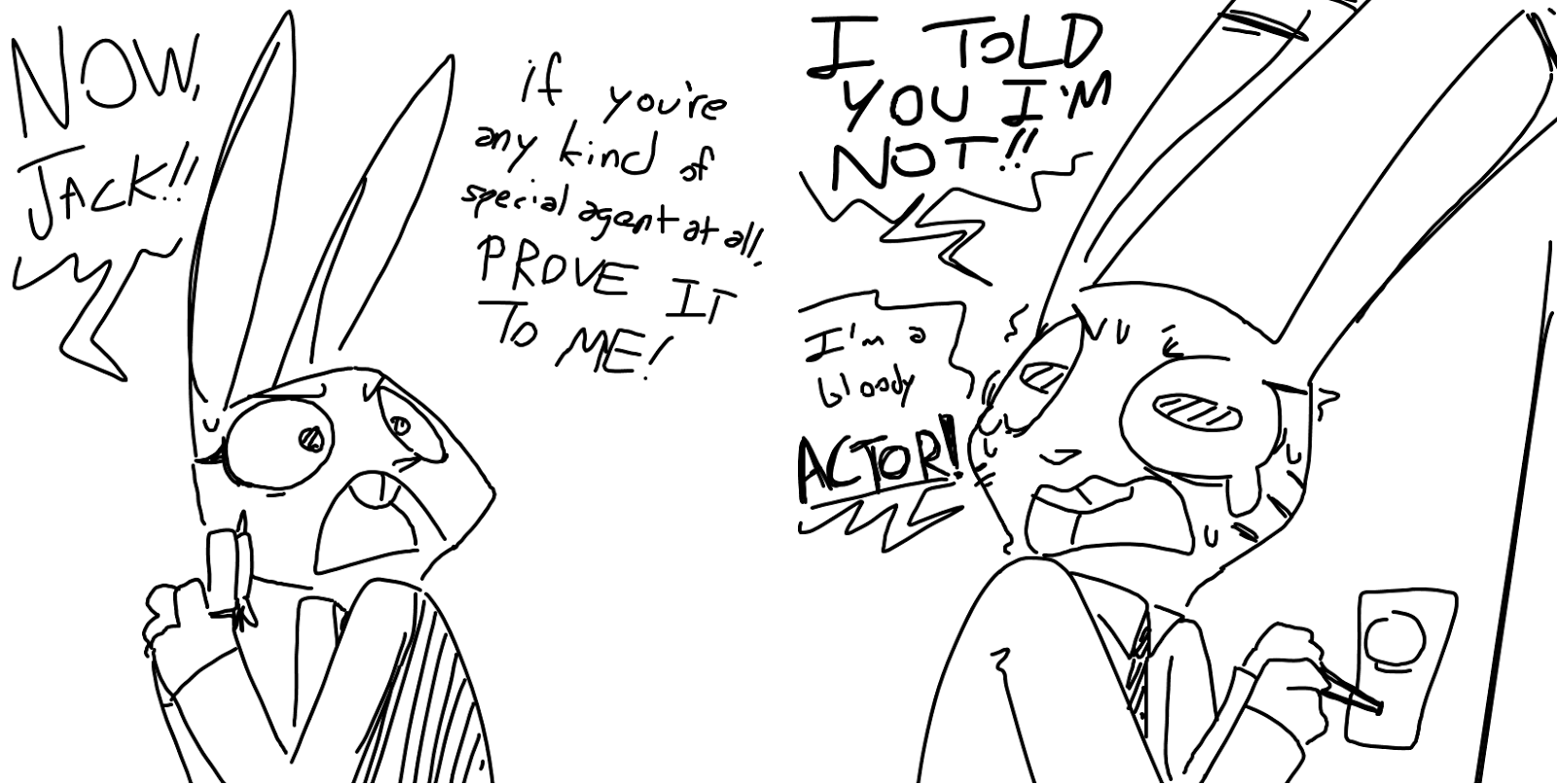 Comic: Jack and Judy (original by TGWeaver- and it's actually SFW!)