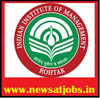 Indian+Institute+of+management+rohtak+recruitment