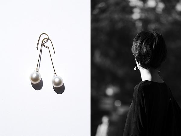 SU sujewelry スウ パール ピアス pearl earrings
