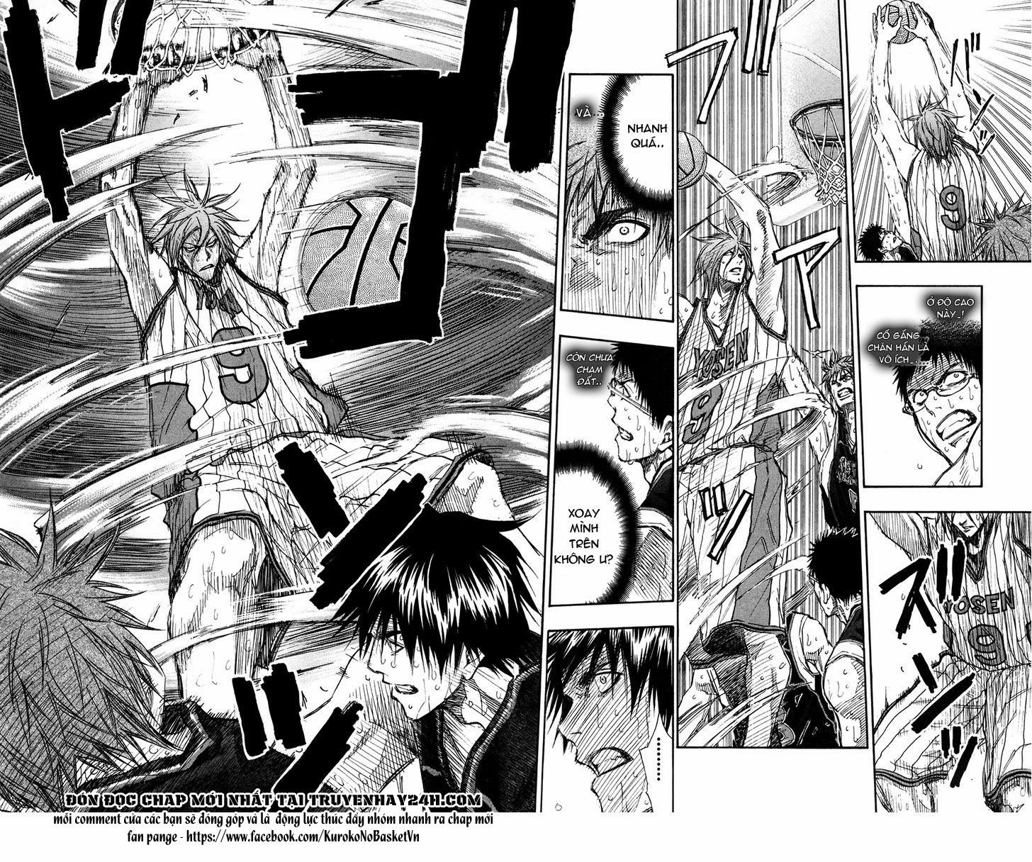 Kuroko No Basket chap 156 trang 6