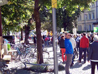 Fridays4Future Demo am 20. September 2019 Bahnhofsvorplatz Traunstein