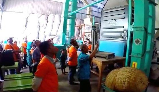 Kelompok Lumbung Pangan Bangkalan belajar ke Desa Rojopolo