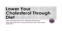 "Picture of ""Lower Your Cholesterol Through Diet"""
