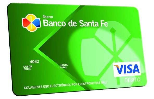 Habilitar tarjeta visa banco santa fe creditos personales issste Habilitar visa debito para el exterior
