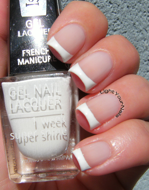 IsaDora French Pink and French Tip mani
