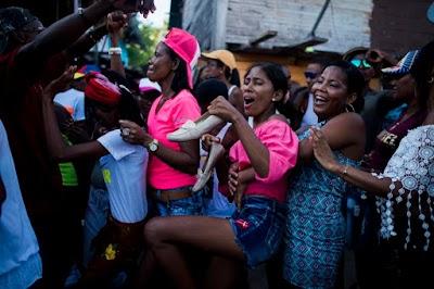 Pulau Ramai nan Damai di Kolombia