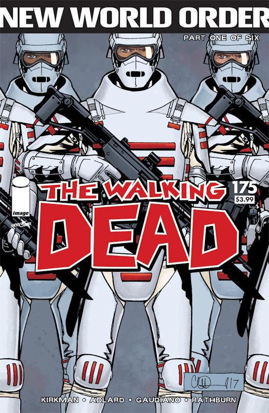Cover Revealed by Image Comics / Skybound Entertainment for THE WALKING DEAD #175