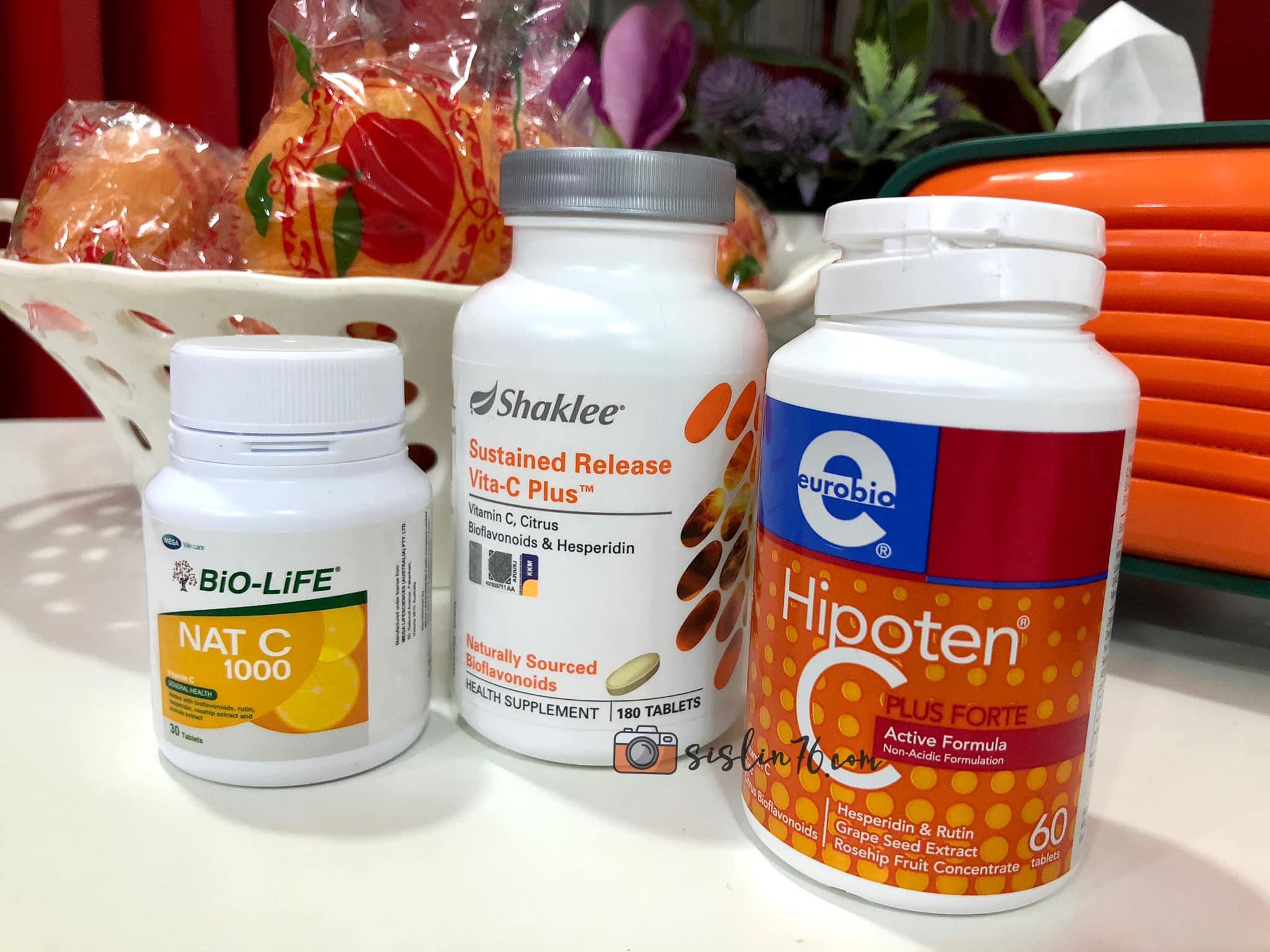 Vitamin-C Pilihan Keluarga Aku Buat Masa Ini