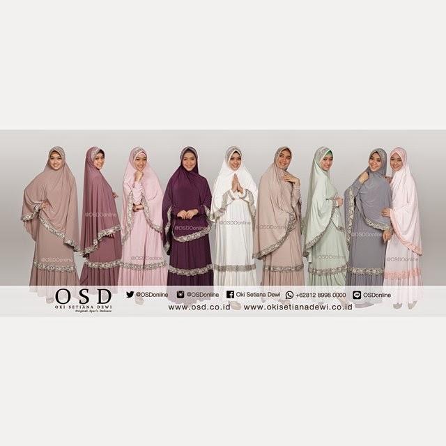 brand hijab syari OSD Oki Setiana Dewi