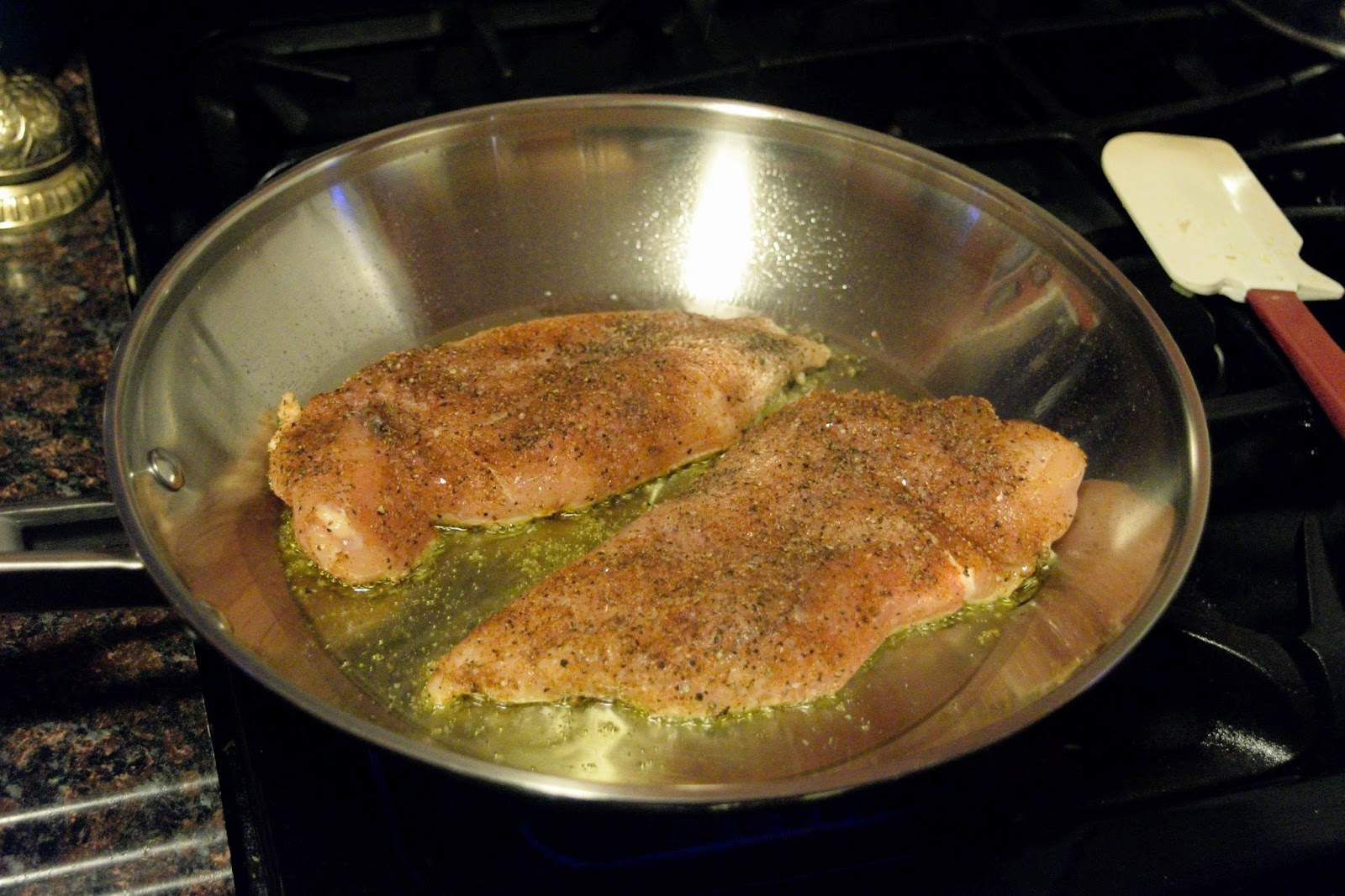 how to cook blackened chicken in oven