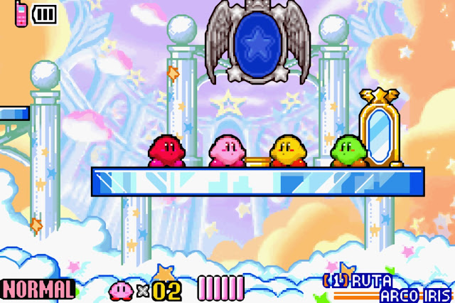 Kirby & the Amazing Mirror - Español - Captura 2