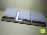 Erfahrungsbericht: JEKING 3-er Würfel Acryl Warmweiße LED Deckenlampe (2700-3200k) für Schlafzimmer&Esszimmer Aluminium Leuchtmittel 15W / CE Zertifizierung / 37.1 x 11.4 x 15.5 cm / 230V AC / IP 20 [Energieklasse A++] [Energieklasse A++]
