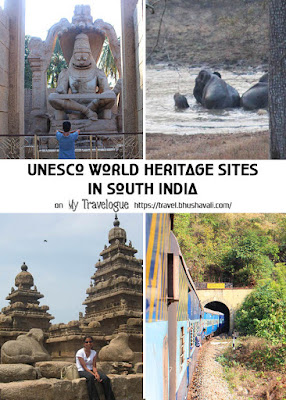 UNESCO World Heritage Sites in South India Pinterest Images