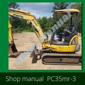 Shop Manual pc27mr-3 pc30mr-3 pc35mr-3 komatsu excavator