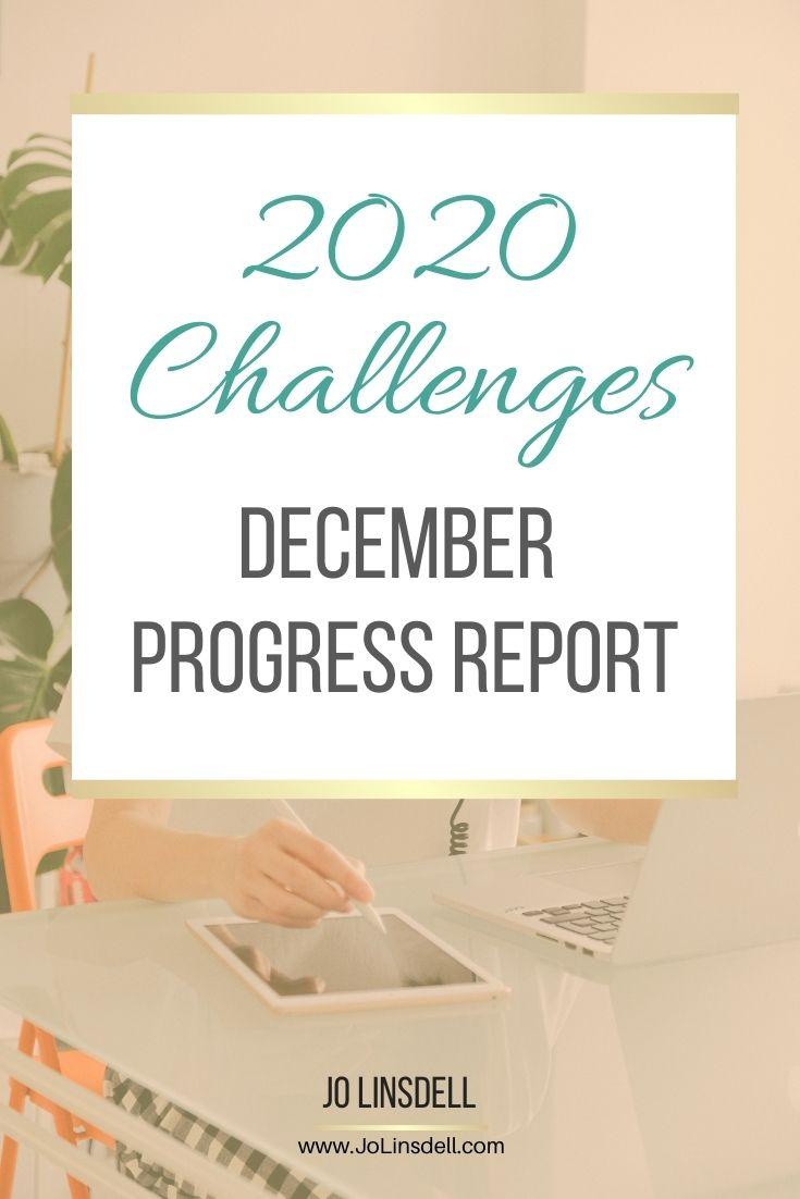 2020 Challenges: December Update