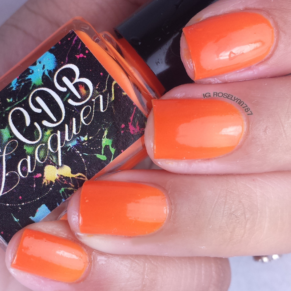 CDB Lacquer - Outgoing Orange
