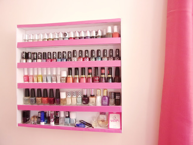 DIY Nail Rack with Foam Boards