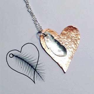https://folksy.com/items/6950409-Heart-Angel-Feather-Pendant-Copper-and-Sterling-Silver-Gift-for-Her-