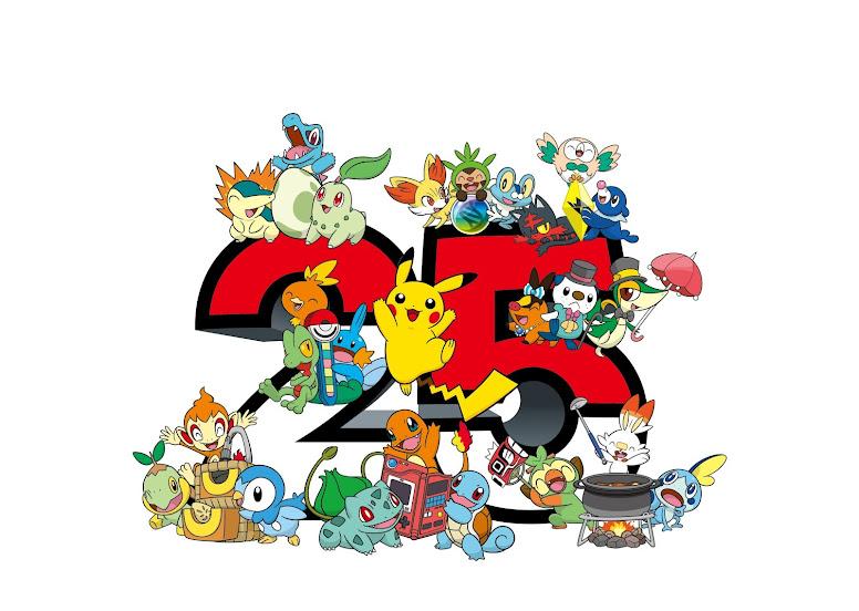 Logotipo 25 Anos de Pokémon