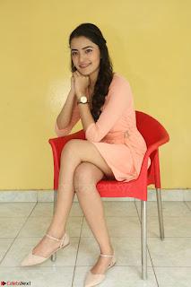 Rukshar Mir in a Peachy Deep Neck Short Dress 069.JPG