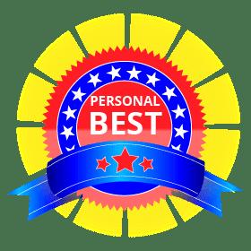 Personal Best Achievement Badge