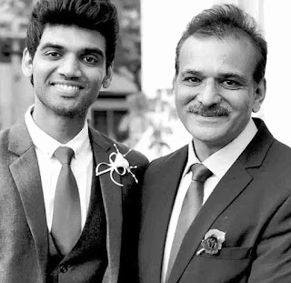 Salil Jamdar With His Father