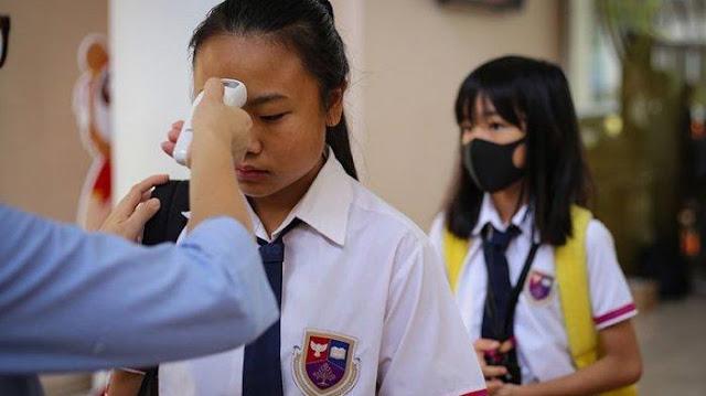 BARU SEHARI Masuk Sekolah, 2 Siswa Terinfeksi Corona, Padahal Sudah Pakai Masker dan Jaga Jarak