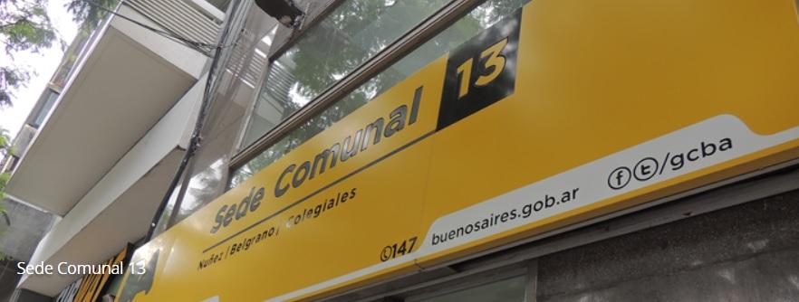Sede Comunal 13