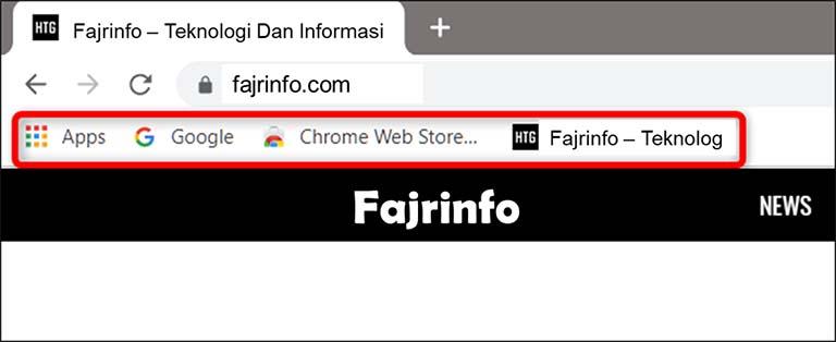 Cara Membuat, Melihat, Dan Mengedit Bookmark Di Google Chrome