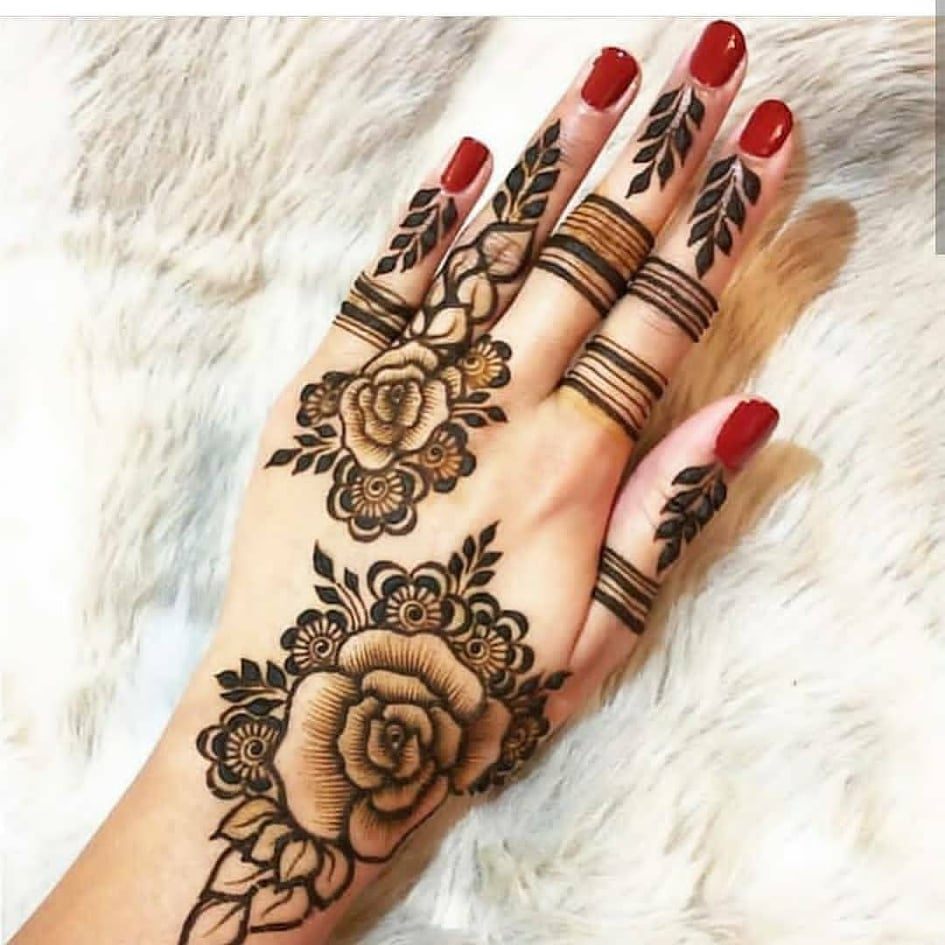20 Simple Mehndi Designs For This Festive Season