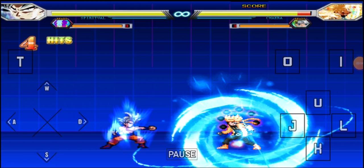 Goku Vs Naruto Mugen