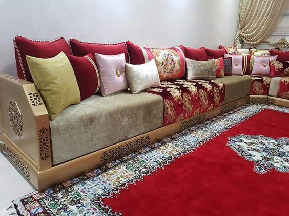 Salon Moderne 2019 Rouge