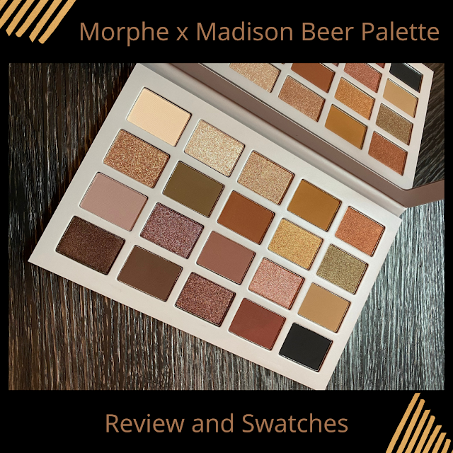 Morphe X Madison Beer Palette (Review and Swatches)