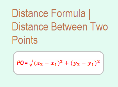 Distance Formula | Distance Between Two Points